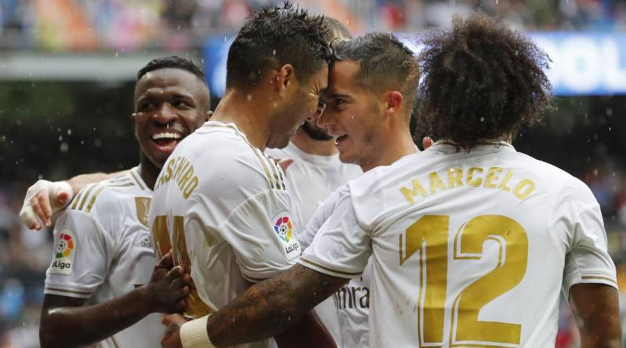 El Madrid sufrió para derrotar al Levante